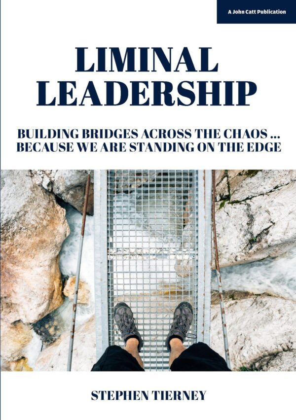 Liminal Leadership front cover.