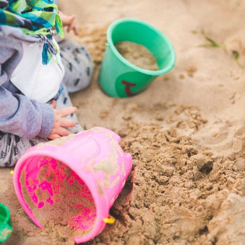 Sand play early years
