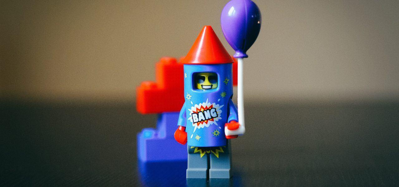Science lego rocket