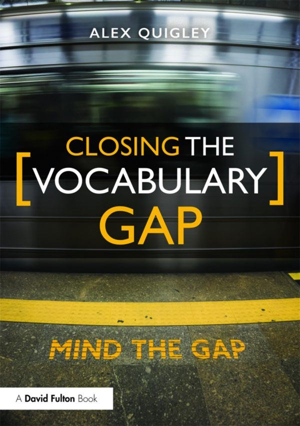 Closing the vocabulary gap front cover